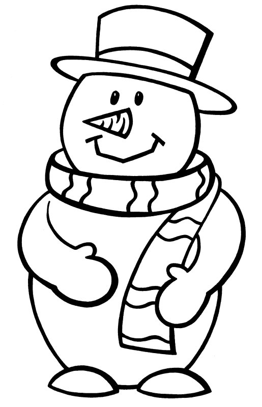 Frosty The Snowman More Coloring Pages