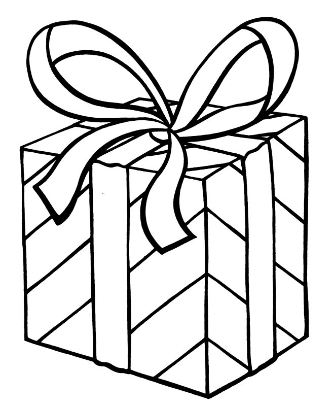 Christmas Present Template Printable New Calendar Free Printable Coloring Pages Of Presents