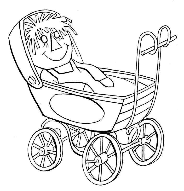 rag dolls printable coloring pages - photo#35