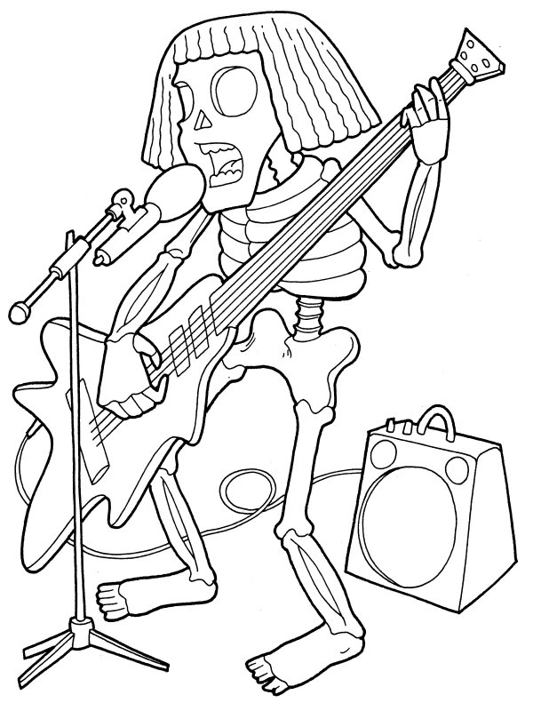 halloween skeleton coloring pages coloring pages human